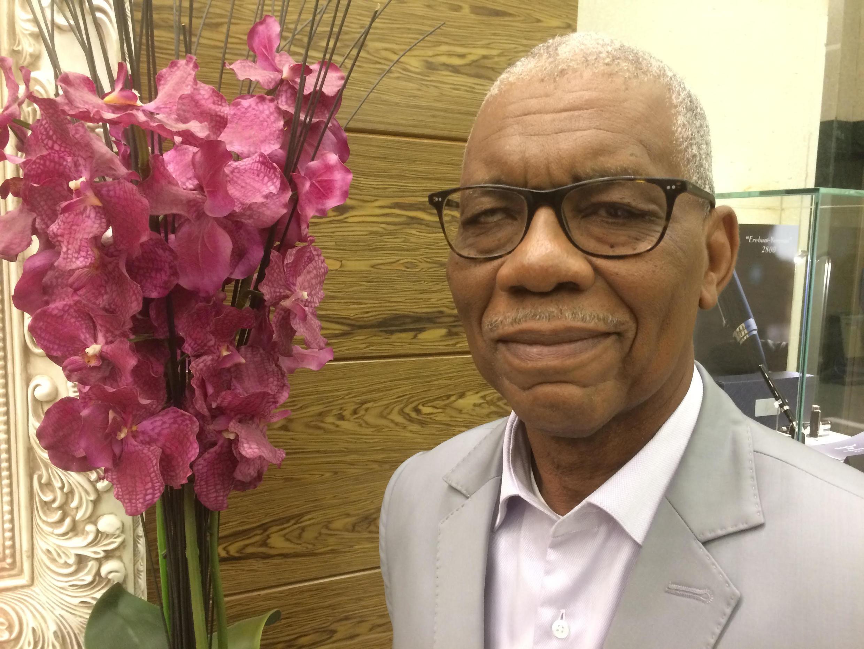 Abdoulaye Harissou, secrétaire général de l'Association du notariat francophone.