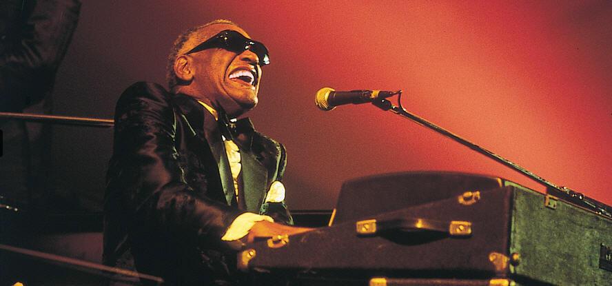 Concert de Ray Charles.
