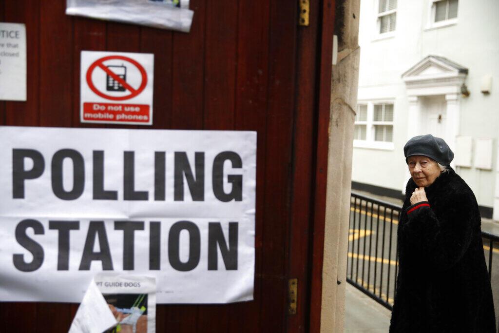 Eleições na Grã-Bretanha.