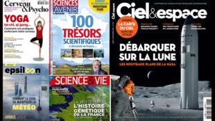 Revue de presse scientifique