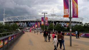 Stade de Londres, le 30 juillet 2017.