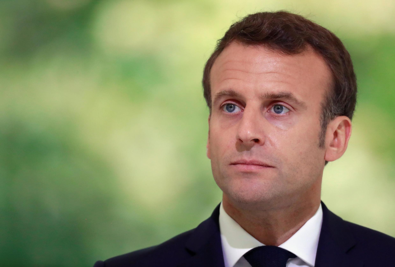 O Presidente francês, Emmanuel Macron .Paris 10 de Maio de 2019.