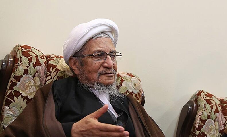 Iran  - Ayatollah Saneï