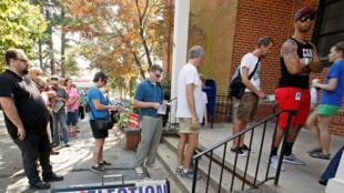 Le jour de l'élection, le 8 novembre, près de 30% des Américains auront déjà voté grâce au vote anticipé.
