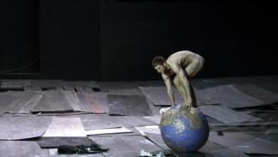 « The Great Tamer » de Dimitris Papaioannou au Festival d'Avignon 2017.