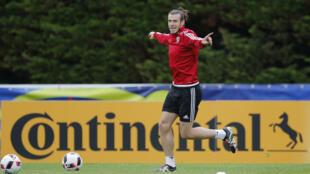 Cầu thủ Gareth Bale của đội Xứ Wales