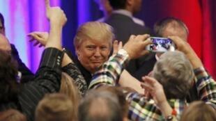 美國總統大選兩黨初選中的特朗普