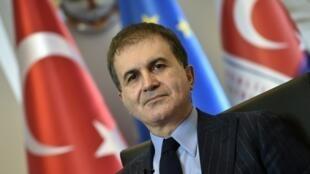 عمر چلیک وزیر امور اروپایی دولت ترکیه