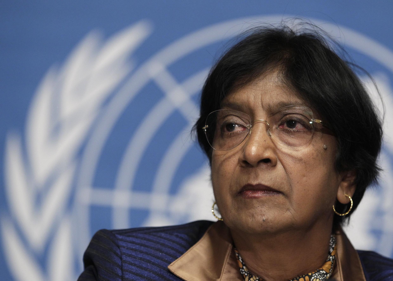 Navi Pillay, alta comissária de Direitos Humanos da ONU, fez um relato comovente sobre o massacre sofrido pelos civis na Síria.
