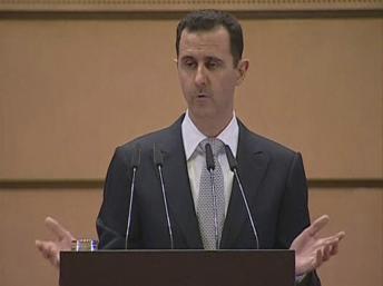 El presidente sirio Bashar Al-Asad.