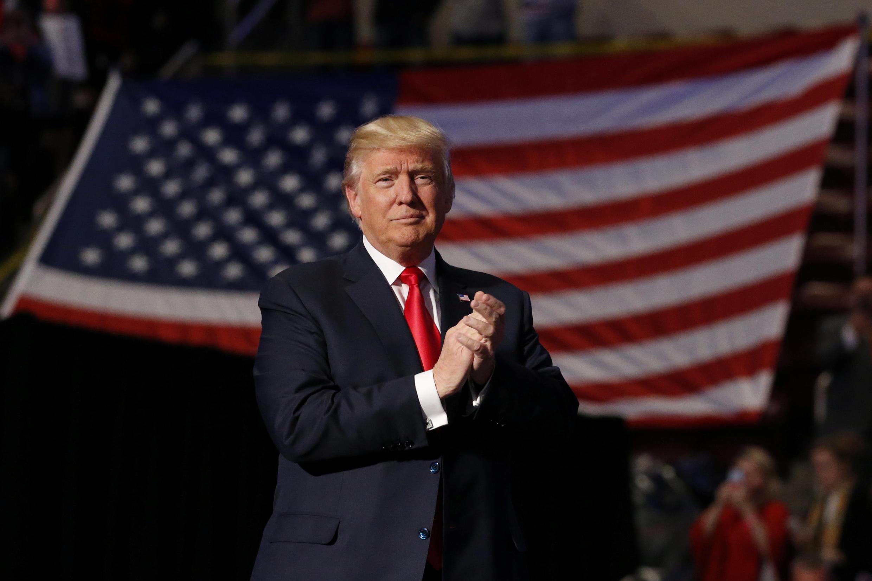 Donald Trump, le soir de sa victoire.
