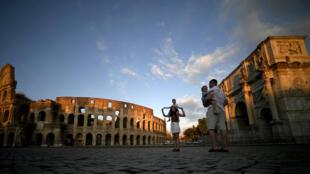 Près du Colisée, au centre de Rome (image d'illustration).