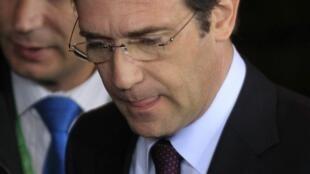 Primeiro-ministro português Pedro Passos Coelho.