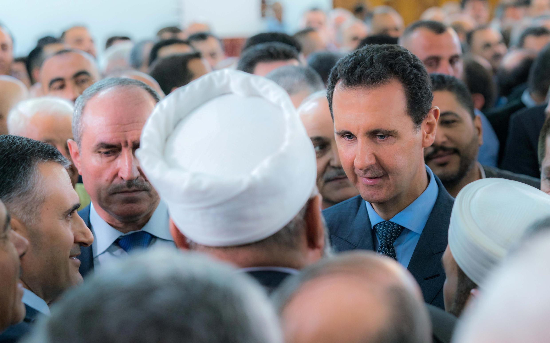 Tổng thống Syria Bashar al Assad. Ảnh ngày 15/06/2018.
