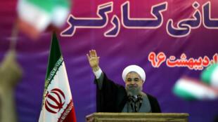 Le président iranien Hassan Rohani a été soutenu par plusieurs sportifs connus.