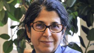 La chercheure franco-iranienne Fariba Adelkhah le 19 deptembre 2012.