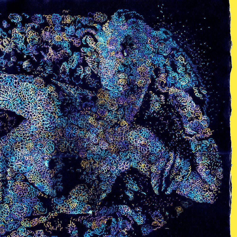 Imagen del album de François Atlas tutulado Les Fleurs Du Mal. Un trabajo que se basa en una de las obras poeticas de Charles Baudelaire.