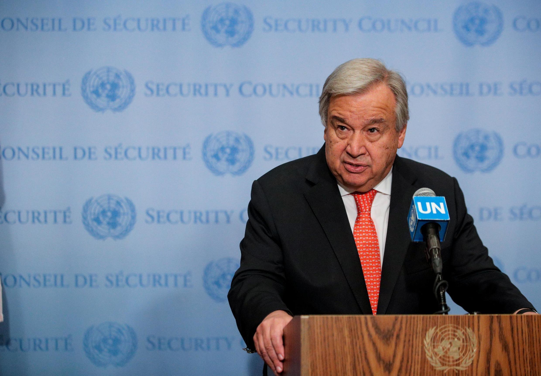 Sakatare Janar na Majalisar Dinkin Duniya Antonio Guterres