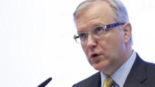 O comissário europeu dos Assuntos Econômicos, Olli Rehn.