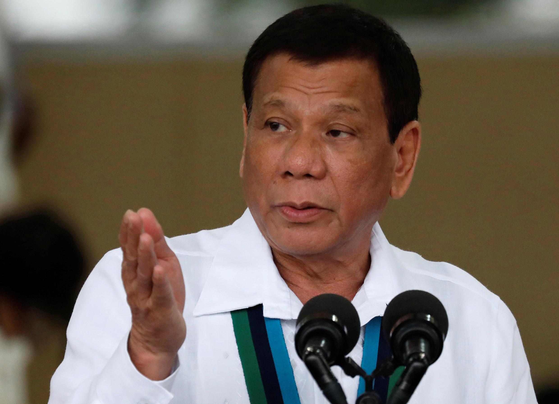 菲律賓總統杜特爾特 2017年10月26日