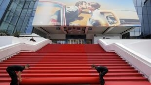El Palacio de los Festivales en Cannes.