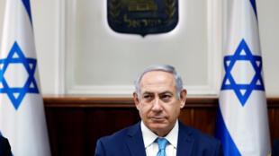 Le Premier ministre Benyamin Netanyahu à Jérusalem, le 11 février 2018.