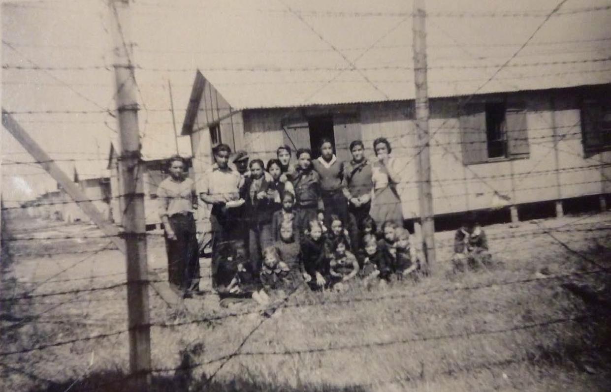 Detainees, Montreuil-Bellay camp, Maine-et-Loire region, 3 September 1943.