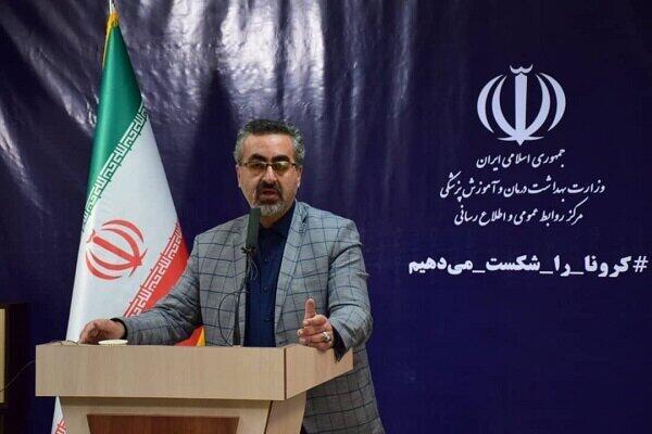 کیانوش جهانپور، سخنگوی وزارت بهداشت ایران