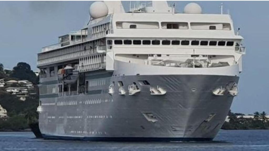 300 people confined on cruise ship in Polynesia after Covid-19 case confirmed