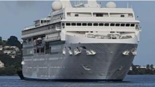 Paul-Gauguin cruise ship 2 August 2020_Credit Polynesie La 1er