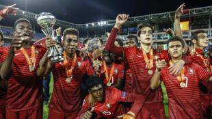 Portugal sagrou-se Campeão da Europa Sub-17.