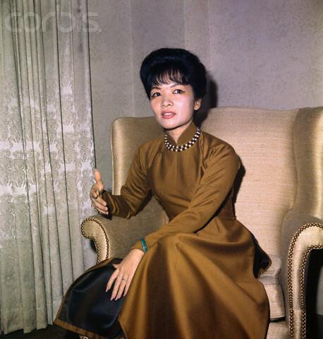 Bà Trần Lệ Xuân, tức bà Ngô Đình Nhu.