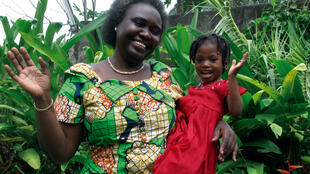Hélène Alemusuey, présidente et fondatrice de l'association Bana ya Kivuvu à Kinshasa.