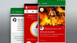 Una aplicación para comunicarse con los vecinos y solucionar emergencias.