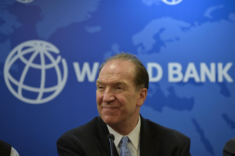世界銀行行長戴維∙馬爾帕斯資料圖片