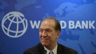 El presidente del Banco Mundial, David Malpass, en una imagen de archivo tomada el 26 de octubre de 2019 durante una conferencia de prensa en la oficina de esa institución en Nueva Delhi, India