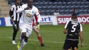 Jackson Martínez, avançado do FC Porto, ainda marcou frente ao Nacional da Madeira, mas os azuis-e-brancos acabaram por perder por 2-1.