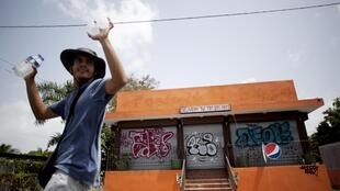 Una pizzería abandonada en Puerto Rico