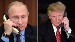 特朗普和普京通電話 談美俄中達成新核協議的事               2019年5月3日