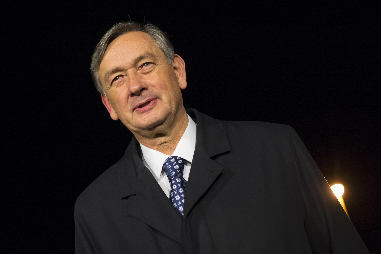 Danilo Turk, président de la République de Slovénie de 2007 à 2012.