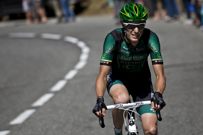 Pierre Rolland lors du Tour de France 2013.