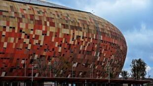 Le Orlando city stadium, dans le township de Soweto.
