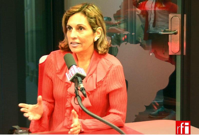 A atriz e diretora do Festival Curta com Teatro, Hissa de Urkiola.