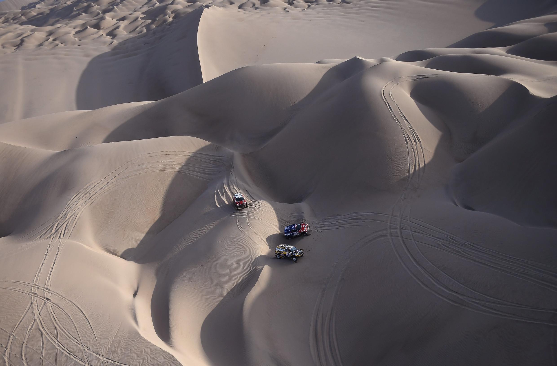 La 41ª edición del Dakar se corre unicamente en Perú.