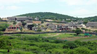 La résidence secondaire du président sud-africain Jacob Zuma à NKandla.