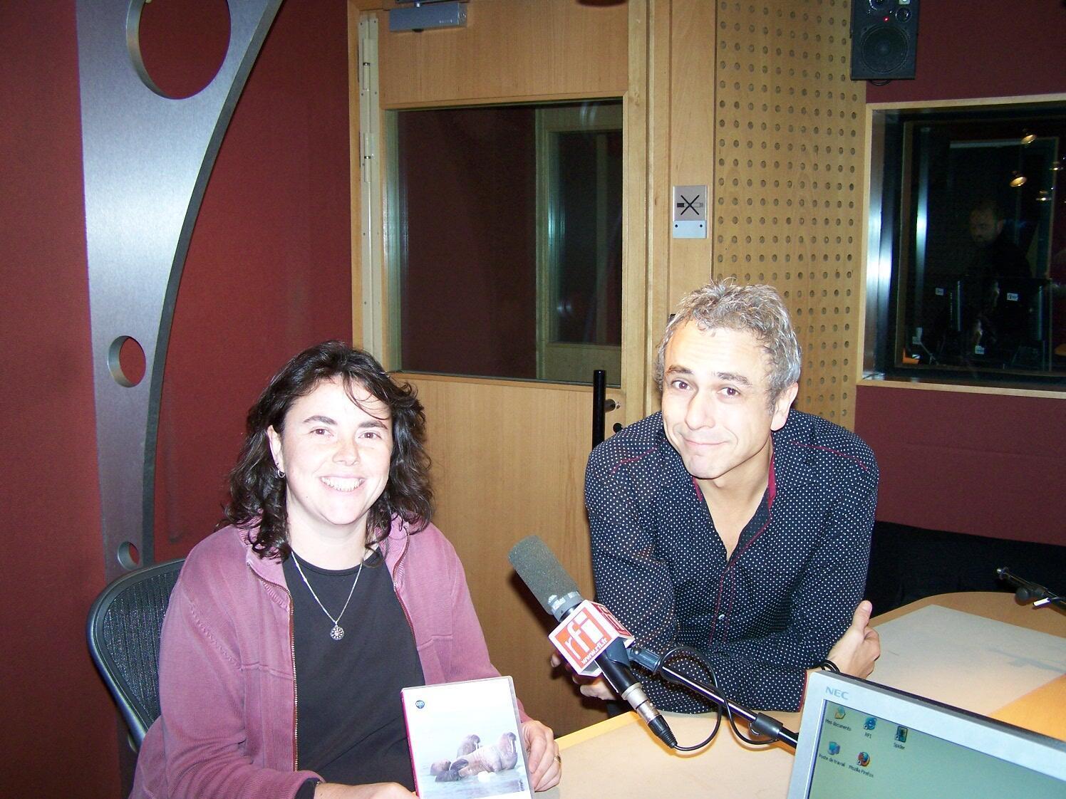 Isabelle Charrier et Antonio Fischetti