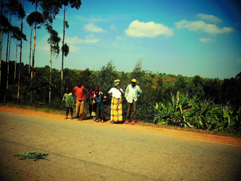 Жители сельской местности в Руанде