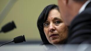 Michele Leonhart, à la tête de la DEA, à Washington, le 14 avril  2015.