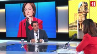 Stéphane Séjourné, candidato a las elecciones europeas y director de campaña de la lista del partido de Emmanuel Macron