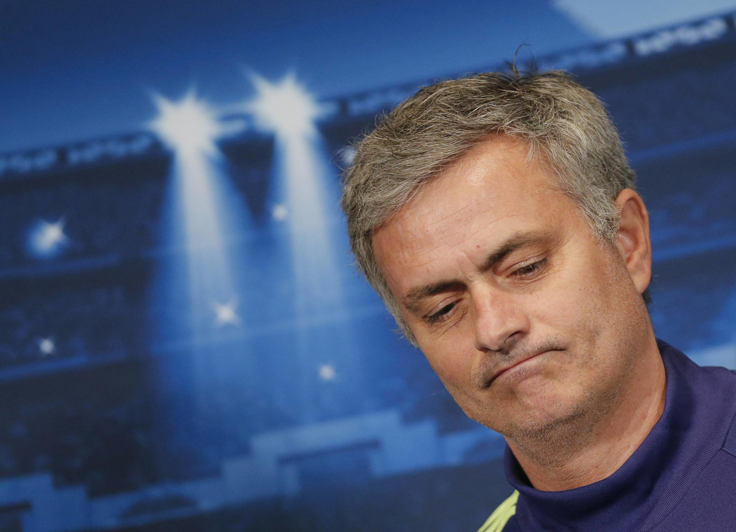 Jose Mourinho will win his third English title with Chelsea if they beat Crystal Palace on 3 May